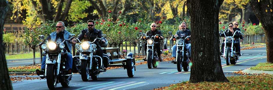 Harley Davidson Funeral Hearse Diamond Creek